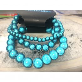Single colour miracle bead bracelets